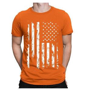 Other - NWT Orange USA Flag T-Shirt S M L XL 2XL 3XL